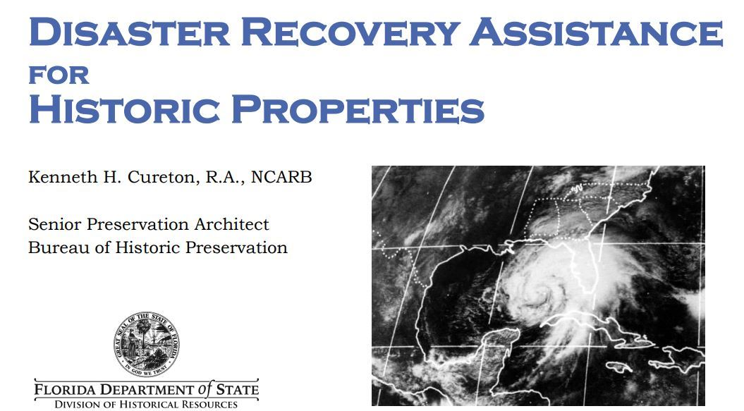 Disaster Recovery Assistance Title Page