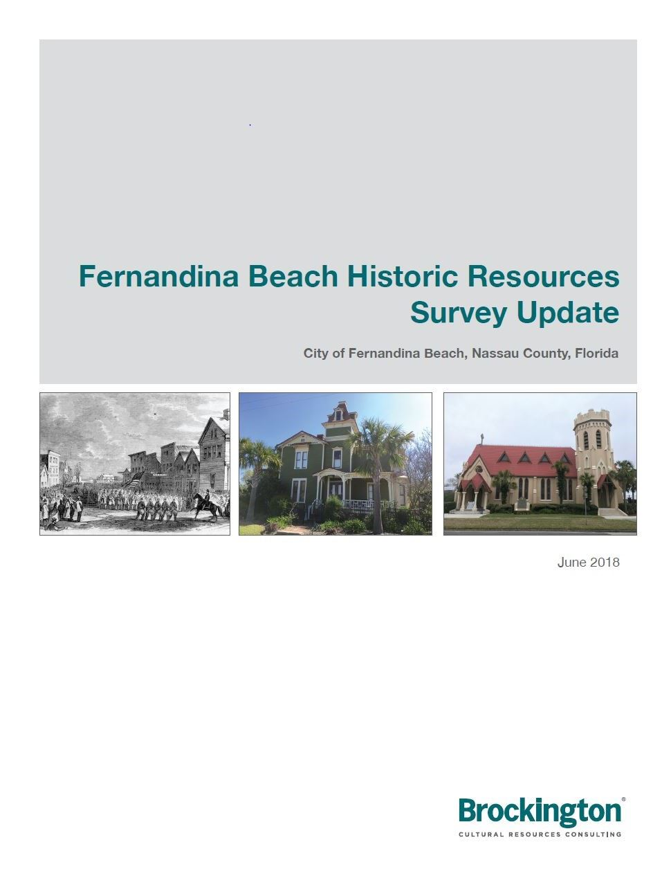 Historic Resources Survey Update Cover