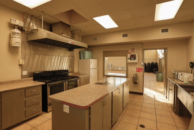 Atlantic Recreation Center Kitchen
